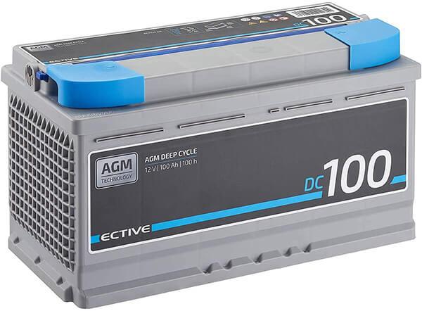 Autobatterie 74ah Test