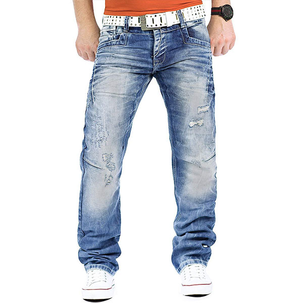 Cipo & Baxx Herren Destroyed Jeans CD104-bans