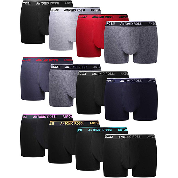 FM London Herren Fitted Boxer Hipster